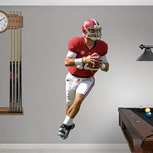 AJ McCarron - Alabama Fathead Wall Decal